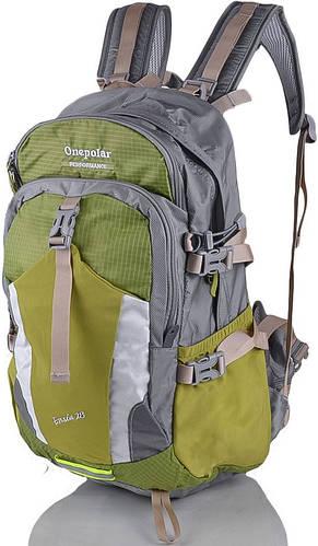 Треккинговый женский туристический рюкзак 28 л. Onepolar (Ванполар) W1729-salat салатовый