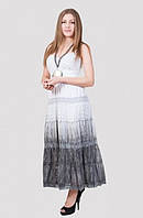 Модный женский сарафан на лето на бретелях