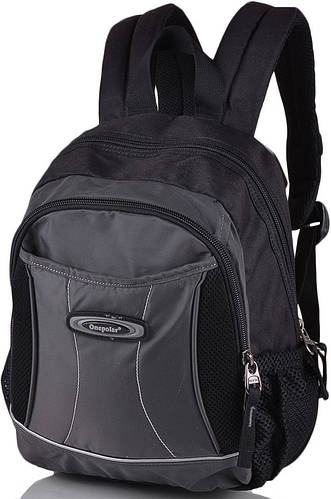 Качественный школьный рюкзак 20 л. Onepolar W1296-grey