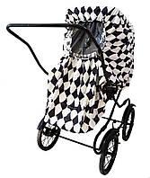Дождевик для детской прогулочной коляски Elodie Details Graphic Grace, универсальный