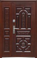 Двери металлические входные (Богатірь)полуторные Козелец, Остер, Десна