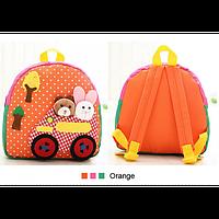 Красивый детский рюкзак с аппликацией для детсада