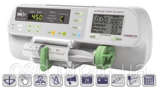 Автоматический инфузионный шприцевой насос Heaco SN-50C6T