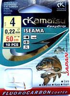Крючок с поводком Kamatsu  Iseama №4