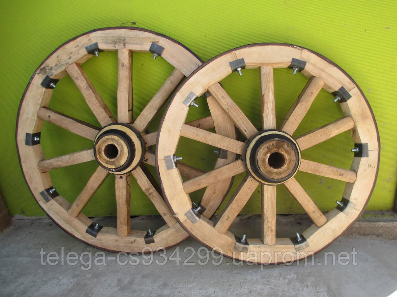 Деревянные колеса для телеги