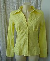 Блузка женская рубашка модная яркая хлопок стрейч бренд р.50 от Chek-Anka