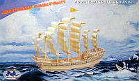 Конструктор деревянный sea-land Парусник династии МИНГ  6 — пластин