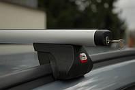 Автобагажник на крышу с рейлингами Amos Alfa Aero (Амос Альфа)