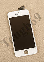Дисплей LCD + Touchscreen iPhone 5s, белый