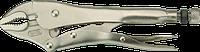 Клещи 01-215 Neo зажимные, 180 мм, закругленные губки