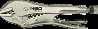 Клещи 01-217 Neo зажимные, 250 мм, прямые губки