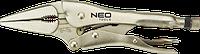 Клещи 01-218 Neo зажимные, 230 мм, прямые удлиненные губки