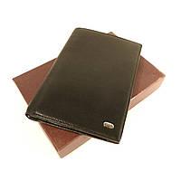 Кошелек мужской, портмоне Petek 1753  документы, натуральная кожа, наличие