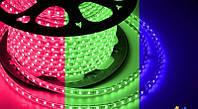 Dilux - Светодиодная лента RGB SMD 5050 60шт/м IP67 220В Premium