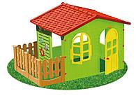 Детский игровой домик Garden House с террасой