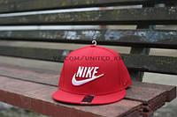 Кепка Nike - True Classic Red Big Logo