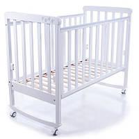 Детская кроватка Верес Соня ЛД-12 (Белый  ) без ящика.