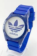 Мужские (Женские) кварцевые наручные часы Adidas, Blue