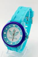 Женские (Мужские) кварцевые наручные часы Adidas, Dotted Light Blue
