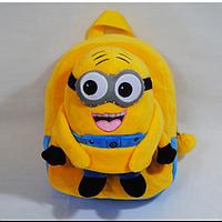Посіпаки красивый плюшевый рюкзак для детей от 1 до 6 лет Миньёны