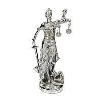 Статуэтка богиня правосудия Фемида с весами и мечом из полистоуна PLS0149S-8