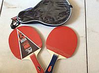 Набор для настольного тенниса KEPAI (2 ракетки в чехле)