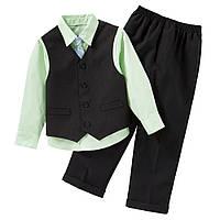 Брюки с рубашкой, жилеткой и галстуком 110 р.