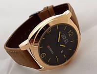 Мужские часы CURREN - LEISURE SERIES, цвет корпуса золотой, черный циферблат