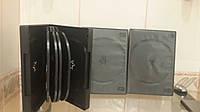 Коробочка на 10 дисков черная коробка для дисков cd dvd