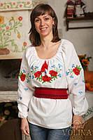 Рубашка женская. Вышиванка женская. Сорочка жіноча.Ткань – лен 100%