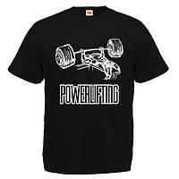 "Футболка ""Powerlifting 3 (Пауэрлифтинг)"""