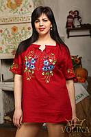 Рубашка женская. Вышиванка женская. Сорочка жіноча.Ткань – лен 100% хлопок