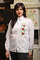 Рубашка женская. Вышиванка женская. Сорочка жіноча.Ткань – Поплин