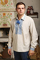 Вышиванка мужская. Рубашка мужская. Сорочка чоловіча. Ткань– лен 100% хлопок