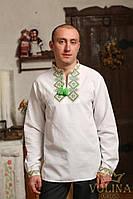 Вышиванка мужская. Рубашка мужская. Сорочка чоловіча. Ткань– домотканая 100% хлопок