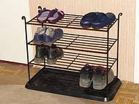 Кованая подставка для обуви (MD-PO-04-600-300-4)