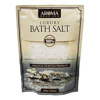 Лечебная  натуральная соль Мертвого моря для ванн  «Aroma Dead Sea» 300 гр  Израиль