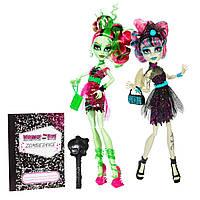 Куклы Monster High Rochelle&Venus Zombie Shake Рошель и Венера Зомби Шейк