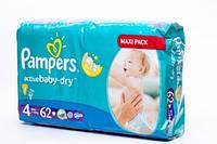 Подгузники Pampers Active Baby-Dry 4 Maxi Plus 7-14kg 58 шт