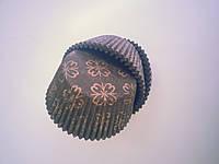 """Форма для маффинов """"Орнамент классический""""коричневый (код 04114)"""