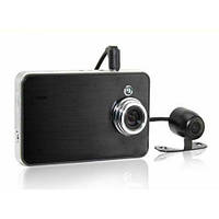 Видеорегистратор X60 Double Camera HD DVR (Globex GU-DUH010), фото 1