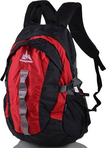 Оригинальный, молодежный  рюкзак 20 л. Onepolar  W1278-red красный