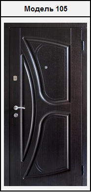 стальные двери с внешней мдф