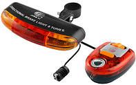 Велосипедные повороты+стоп+сигнал+фонарь задний