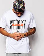Мужская футболка Stussy Worldwide