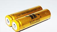 Аккумулятор для радиоприемников Li-ion 18650 6800 (Gold)