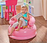 Детское надувное кресло 48508 intex Hello Kitty