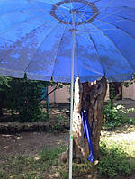 Зонт садовый пляжный круглый 3 м 16 спиц