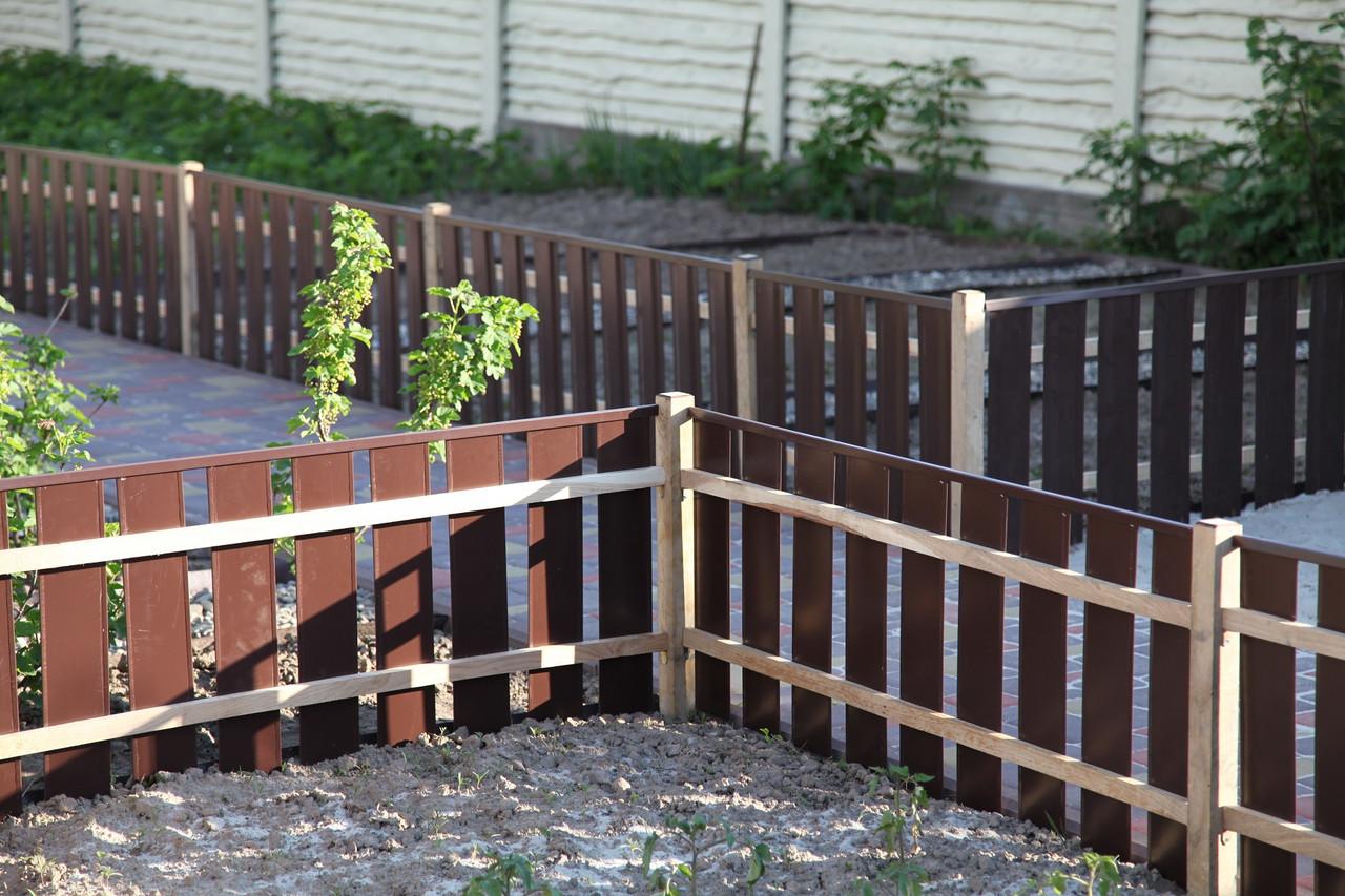 Заборы для огорода фото 4