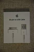 Зарядка Data кабель для iPhone 4, 4s, 3g, 3gs USB. iPad 1, 2, 3. Очень хорошее качество.